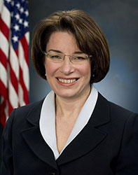 image of Amy  Klobuchar