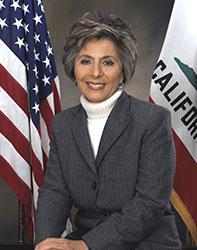 Official portrait of senator Barbara  Boxer
