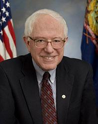 Official portrait of senator Bernie  Sanders