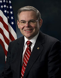 Official portrait of senator Bob  Menendez