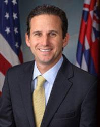 Official portrait of senator Brian  Schatz