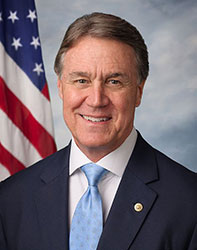 Official portrait of senator David  Perdue