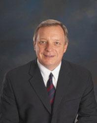 Official portrait of senator Dick  Durbin