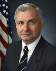 Official portrait of senator Jack  Reed