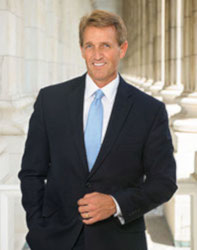 Official portrait of senator Jeff  Flake