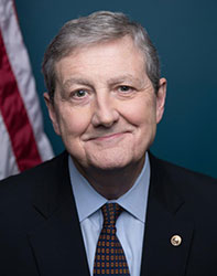 Official portrait of senator John Neely Kennedy