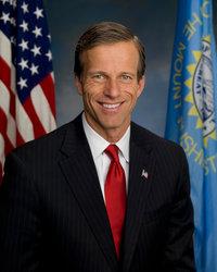 Official portrait of senator John  Thune