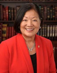 Official portrait of senator Mazie  Hirono