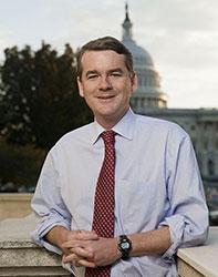 Official portrait of senator Michael  Bennet
