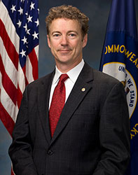 Official portrait of senator Rand  Paul