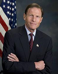 Official portrait of senator Richard  Blumenthal