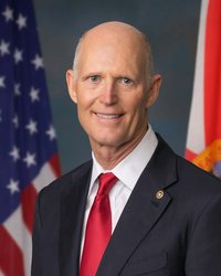 Official portrait of senator Rick  Scott